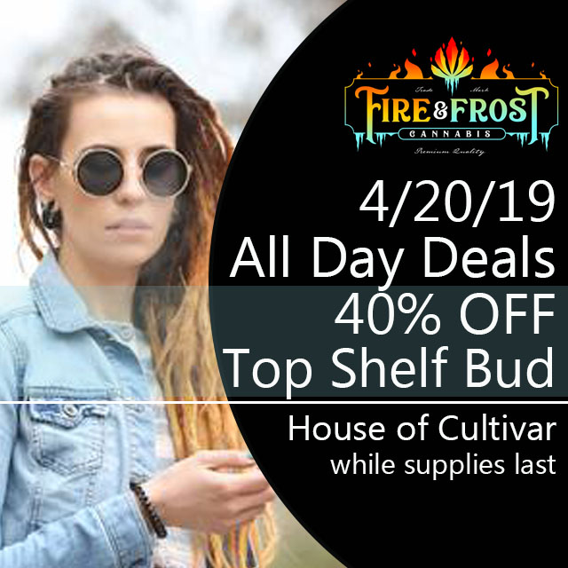 cannabis bud flower sale deal